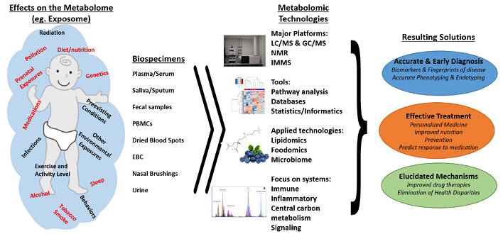 Power of metabolomics to capture effects on the                 metabolome