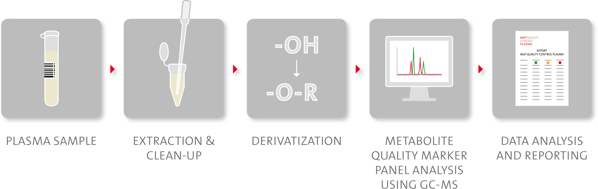 Schematic representation of MxP® Quality