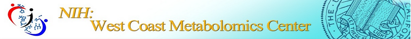 NIH West Coast Metabolomics Center Logo