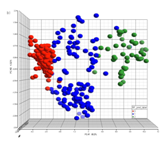 PCA visualization           of natural clustering pattern